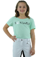 Kid's Mid-Waist Breech | White + Black