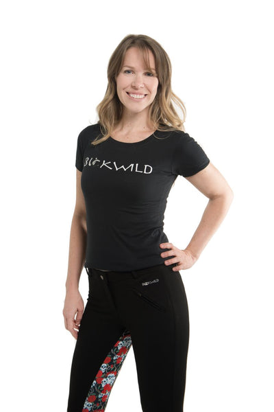Buckwild Curvy High-Waist Breech Skulls