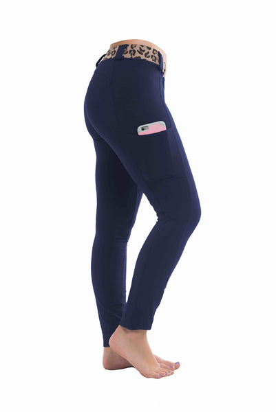 Riding Tights | Navy Blue