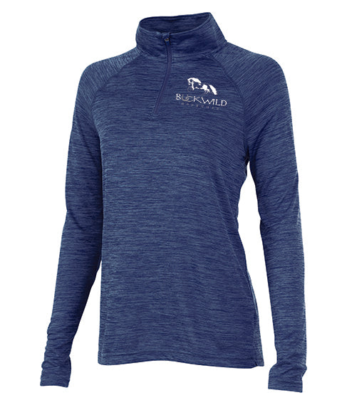 Performance Pull Over | Quarter Zip | 100% Polyester | Red