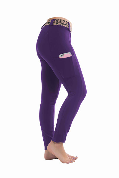 Riding Tights | Purple