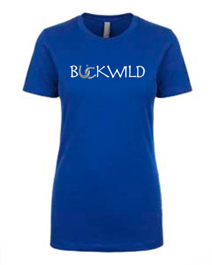 "Favorite Tee | Scoop Neck | ""Put Me Back on My Horse"" Royal Blue"