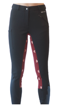 Signature Mid-Waist Breech | Black + Fox | Side Pocket