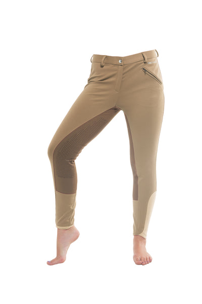 Signature Mid-Waist Winter Breech | Tan + Tan