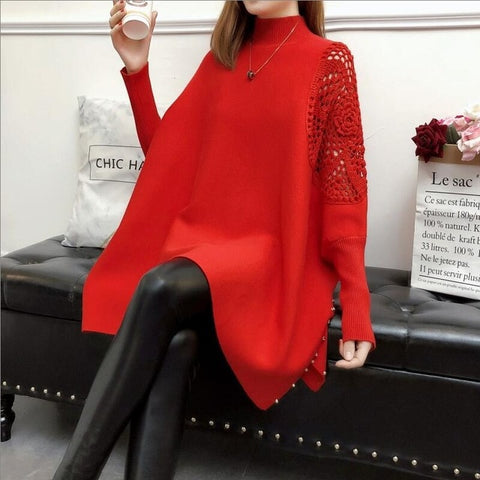 Ladies Autumn/Winter Loose Fit Sweater