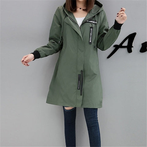 Ladies  Casual Autumn Coat