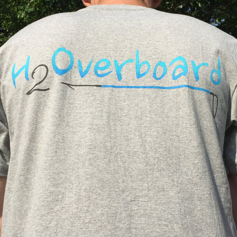 H2Overboard Youth Short Sleeve Shirt - Aluminum / Small - Shirts - H2Overboard - 1