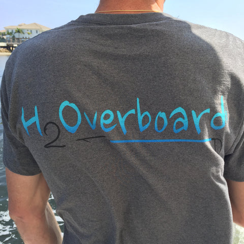 H2Overboard Short Sleeve Shirt - Classic Grey / Small - Shirts - H2Overboard - 1