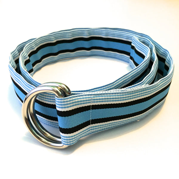 Coastal Blue Ribbon Belt - X-Small - Belt - H2Overboard