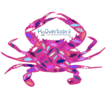 Crab Transfer Sticker