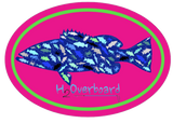 Grouper Camo Oval Sticker -  - Stickers - H2Overboard
