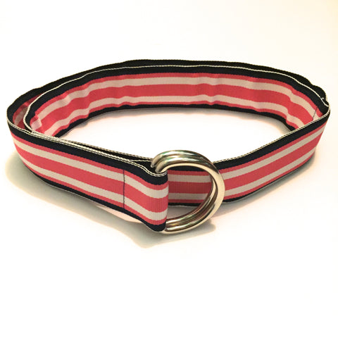 Hibiscus Ribbon Belt - X-Small - Belt - H2Overboard