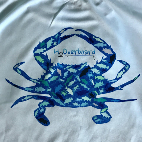 Crab Camo Youth Performance Shirt