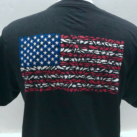 American Flag Short Sleeve Shirt