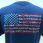 American Flag Youth Short Sleeve Shirt