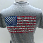 American Flag Youth Short Sleeve Sport Shirt