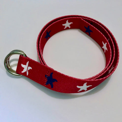 Starfish D-Ring Belt