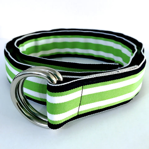 Key Lime Ribbon Belt