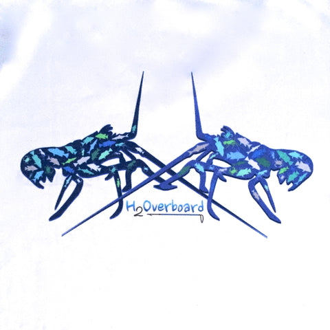 Lobster Fish Camo Ladies Performance Shirt -  - Performance Shirt - H2Overboard - 1