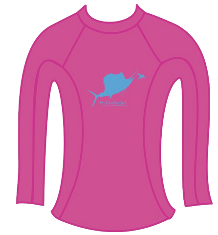 Sail's Up Ladies Rash Guard