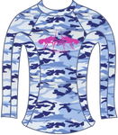 Double Bugging Ladies Rash Guard
