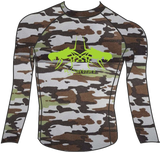 Double Bugging Rash Guard
