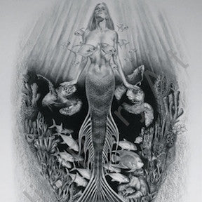 Mystic Maiden -  - Lithograph - Jim Barry Art - 1