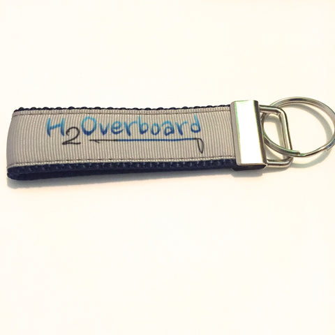 H2Overboard Key Fob - H2Overboard on Navy - Key Fob - H2Overboard - 2