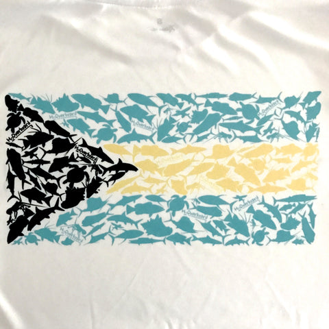Bahamian Flag Performance Shirt