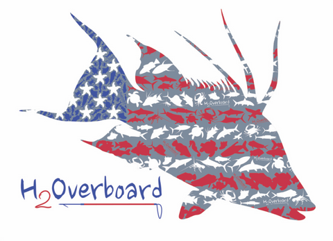 American Hogfish Sticker