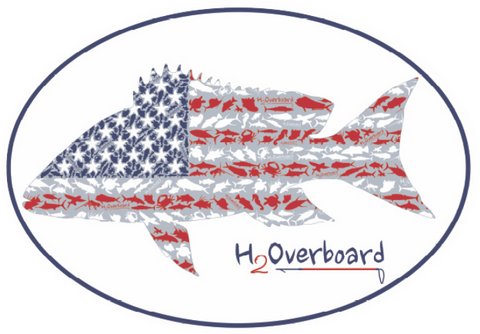 American Mutton Oval Sticker