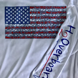 American Flag Performance Shirt