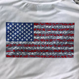 American Flag Ladies Performance Shirt
