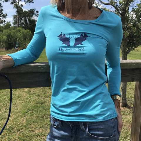 Hogging the Reef Lightweight Ladies Performance Shirt