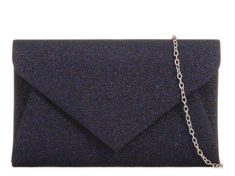 Glittery Evening Bag -Colour Dark Navy