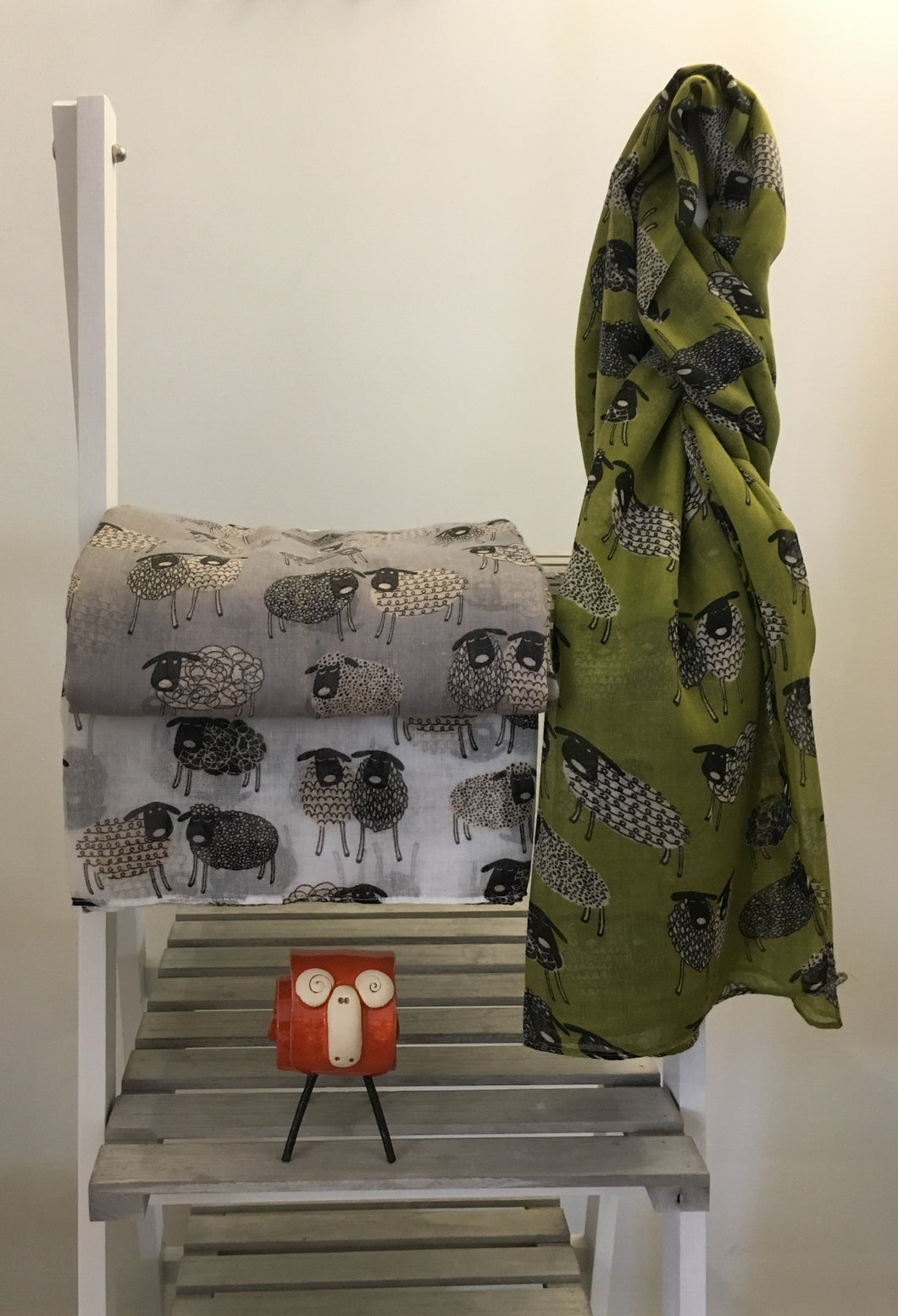 Sheep Cartoon Scarf