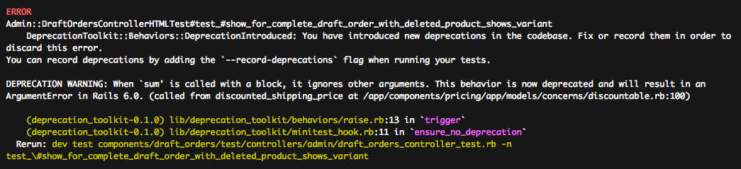Deprecation Toolkit in Action