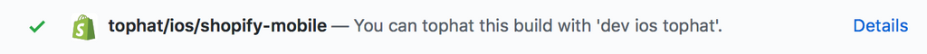 Tophat Github Commit Status