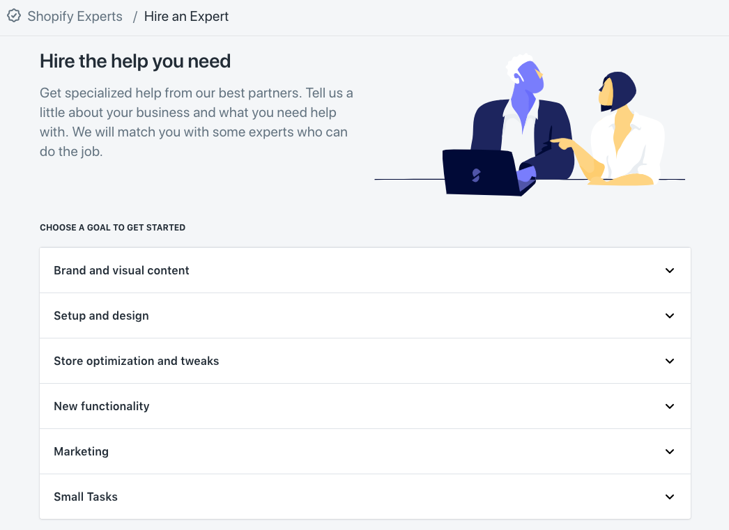 Shopify Services Marketplace, Where Merchants can Hire Third-party Experts