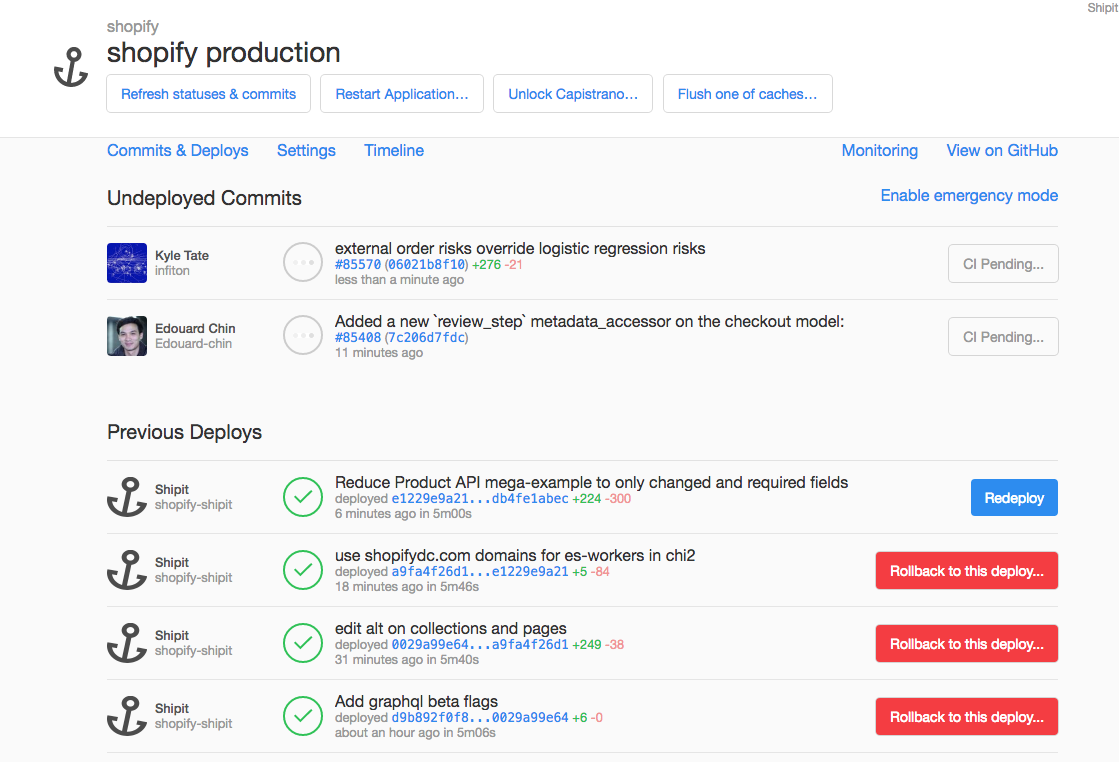 Automatic Deployment at Shopify – Shopify Engineering