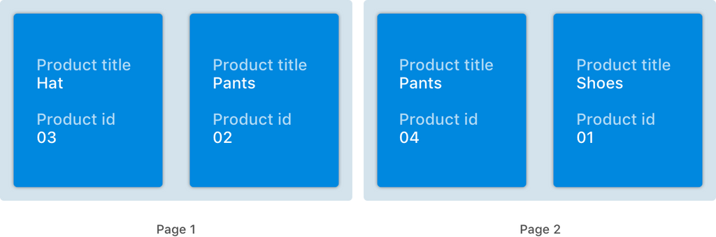 Sorting by Title - No Skipped Product