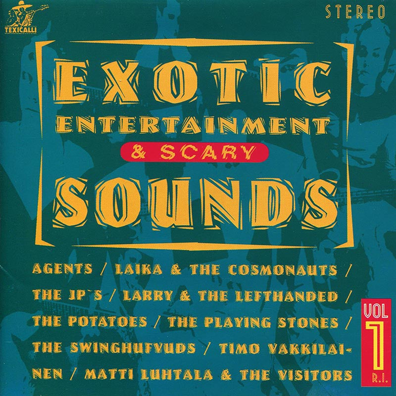 VARIOUS ARTISTS - Exotic Entertainment & Scary Sounds Vol. 1