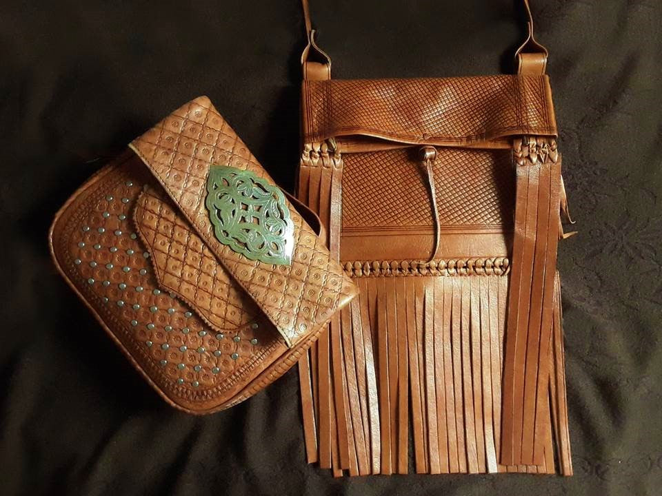 Leather Bag by Moroccan Corridor