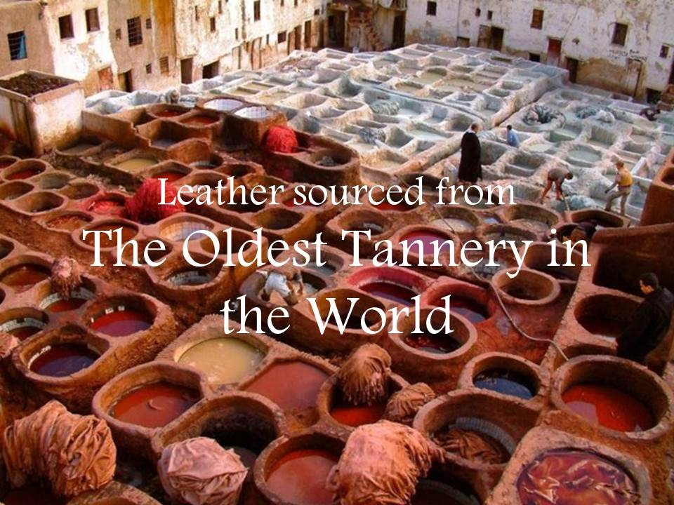 Fez Leather Tannery - Moroccan Corridor