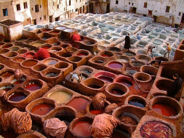 Moroccan Corriodor's Leather Goods: Making Process