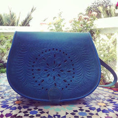 Moroccan Corridor - Blue Turquoise Bag