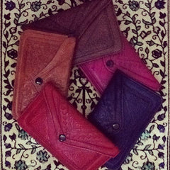 Moroccan Corridor - Set of leather wallets