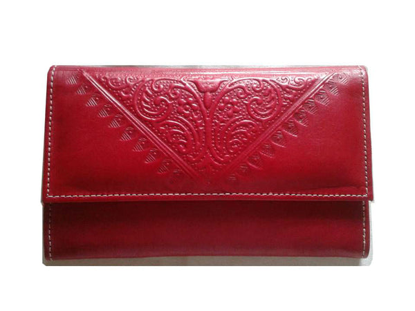 Club Morocco Wallet - Red