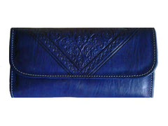 Club Morocco Wallet - Blue - Wristlet