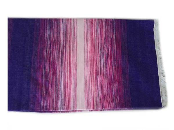 Moroccan Blanket - Pink and Purple